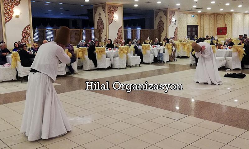 semazen ekibi gösterisi dini düğün