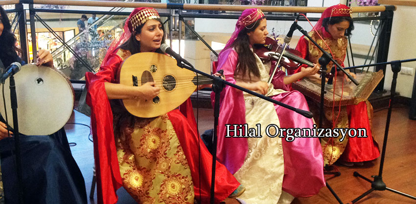 bayan ilahi grubu organizasyonu istanbul