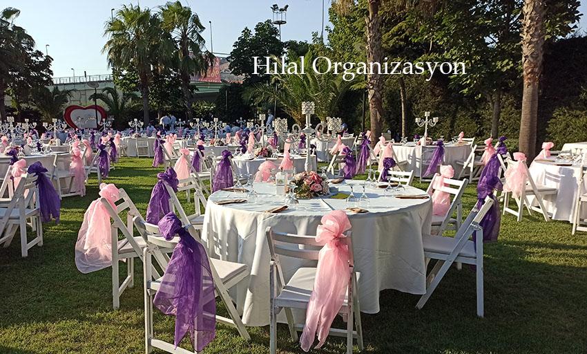masa sandalye kiralama nişan organizasyonu