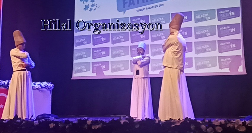 semazen ve ilahi grubu organizasyonu